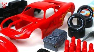 Cars 3 Lightning McQueen Revell Junior Kit cars for kids - McQueen educational video for children