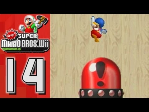 Newer Super Mario Bros Wii - World 5 | Freezeflame Volcano (Part 14)