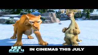Ice Age 4 Continental Drift Official Trailer
