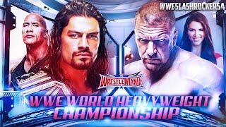 WWE Wrestlemania 32 Match Card Predictions