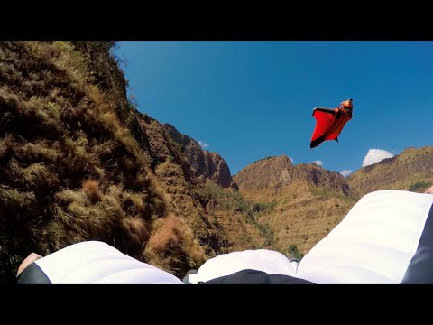 World's First Wingsuit BASE Jump  in The Simien Mountains National Park - Ethiopia
