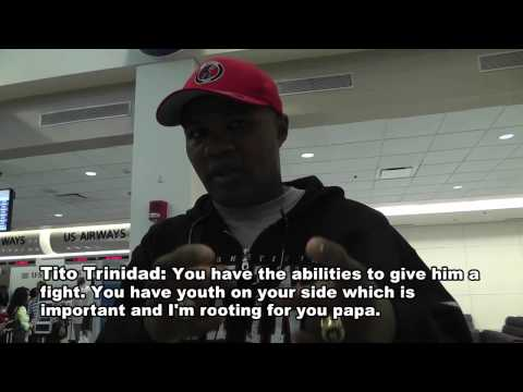 Tito Trinidad's Message To Danny Garcia
