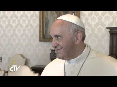 Pope Francis meets president of the Republic of Cyprus