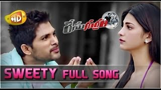 Race Gurram ᴴᴰ Full Video Songs Sweety Song Allu