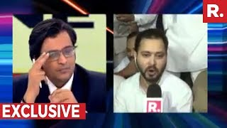 Arnab Goswami speaks to Tejashwi Yadav (exclusive)..