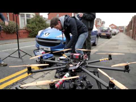 B&FC worked with Ironbird Aerial Cinematography to create our 2014 TV advert. The advert has been filmed using MoVI M10 and a Cinestar 8 Octocopter. Look out for the advert on TV in January 2014. This footage was shot by our College's technician Andrew Davies.