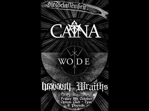 Caïna (UK) - Live at the Opium, Edinburgh October 11, 2013 FULL SHOW HD