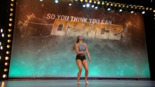 Alexis Gilbert's Audition Impresses The Judges   Season 14 Ep  1   SO YOU THINK YOU CAN DANCE