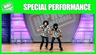 Les Twins - France | Official HHI Special Performance @ 2013 World Hip Hop Dance Championship