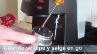 Limpiar cafetera Express Black and Decker