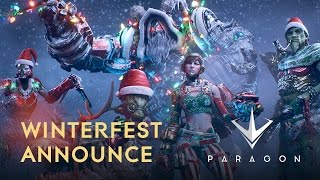Paragon - Winterfest Bejelentés