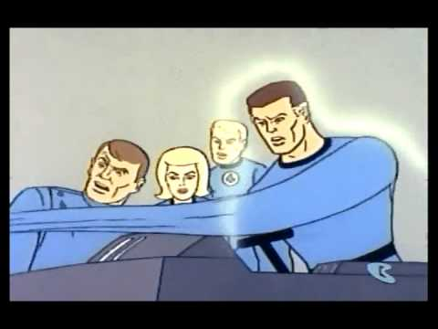 1967 Fantastic Four Cartoon Intro, In 1967, Hanna-Barbera produced a Fantastic Four cartoon that adapted many stories directly from the original Lee & Kirby run.
