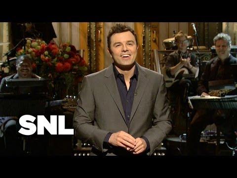 Seth MacFarlane Monologue: The Voices - Saturday Night Live