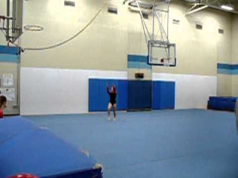 12 Year Old Gymnast Level 5 Floor Routine