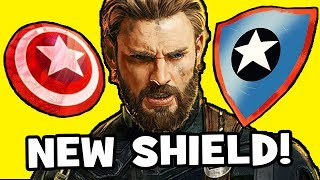 Avengers Infinity War THEORY: Captain America's NEW SHIELD