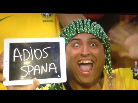 World Cup 2014 - Adios Spana (Chile vs Spain)[HD]
