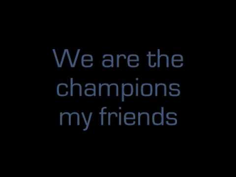 Queen - We Are The Champions [lyrics]