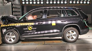 Skoda Kodiaq (2017) Crash Test EuroNCAP. YouCar Car Reviews.