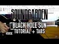 Comment jouer Black Hole Sun de Soundgarden à la guitare