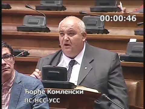 Ђорђе Комленски - Да нису уништавали војску штета од поплава би била минимална 22.5.2018.