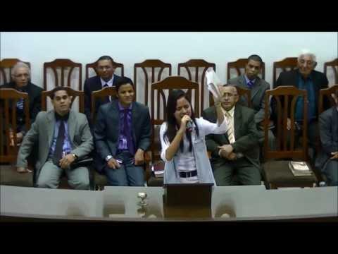 Culto de Avivamento (09/05/2014) - Mayra Carvalho