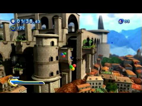 Sonic Generations (PS3): Rooftop Run - Modern - S-Rank
