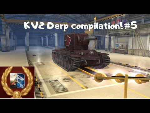 kv2 derp compilation #5 | world of tanks blitz