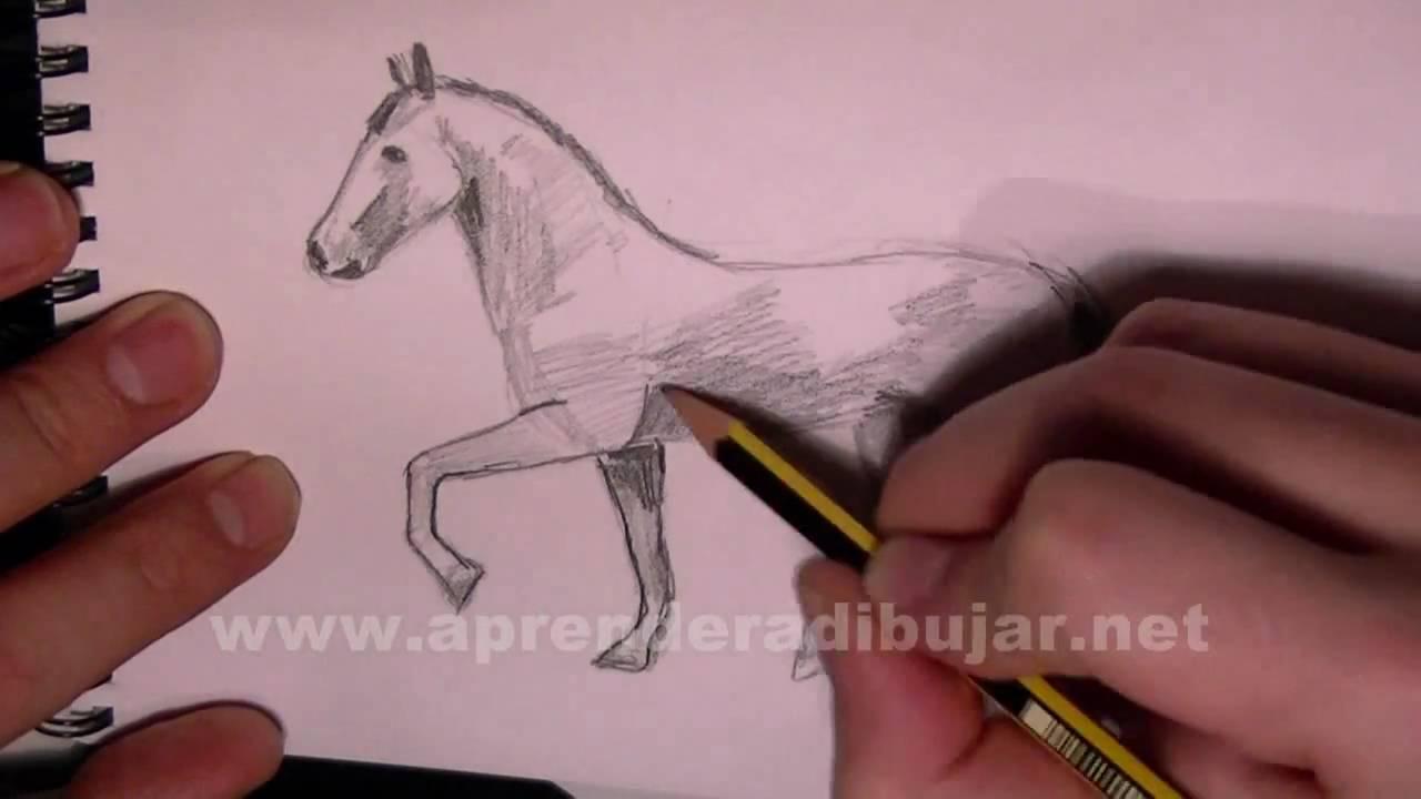Dessin au crayon de cheval au trot comment dessiner - Comment dessiner le drapeau d angleterre ...
