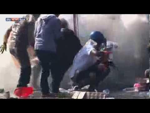 image vidéo استمرار الاحتجاجات المطالبة برحيل رئيسة الحكومة