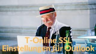 T-Online SSL Einstellungen Für Outlook