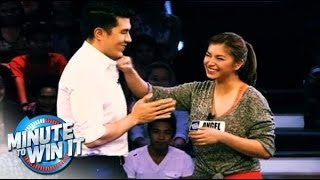Angel Locsin on MINUTE TO WIN IT : February 20, 2014 Teaser