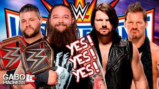10 luchas que DEBEN/PODRÍAN darse en WrestleMania 33