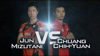Review all the highlights from the CHUANG Chih-Yuan vs MIZUTANI Jun Quarter Final first stage table tennis match at the 2014...</div><div class=