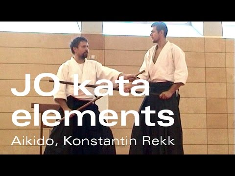 Aikido Jo Kata Elements - Aiki-Jo Kata 7 and 13