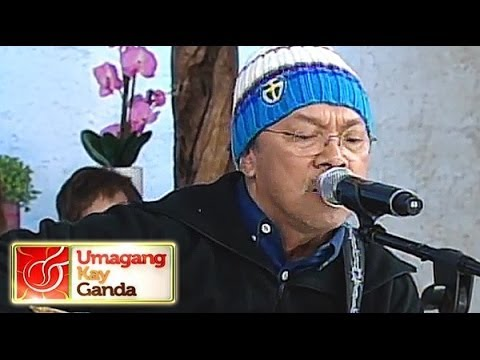 Noel Cabangon performs 'Nandito Ako' on UKG
