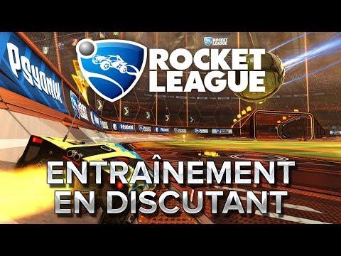 Rocket League : Entrainement en discutant