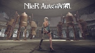 NieR: Automata - 3C3C1D119440927 DLC Játékmenet