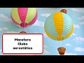 Room Decor Ideas #5 Globo aerostatico macetero