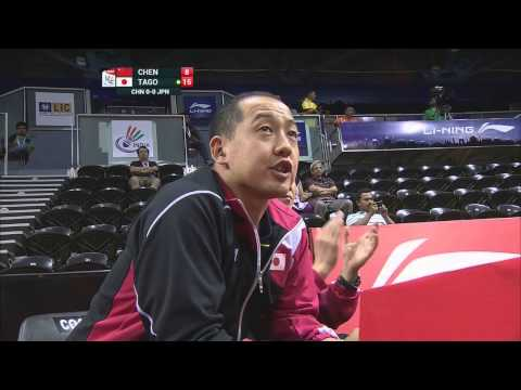 THOMAS AND UBER CUP FINALS 2014 Session 15, Match 1
