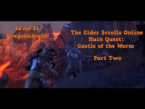 The Elder Scrolls Online: Castle of the Worm Level 21 Dragonknight - Max Settings 1440p HD - Part 2
