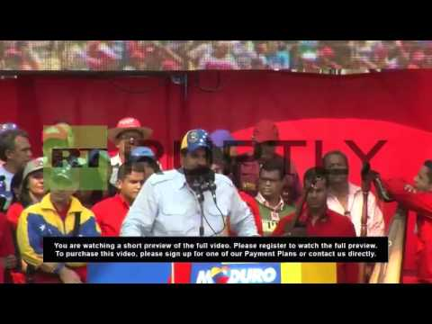 Venezuela: Maduro kicks-off campaign in Chavez's hometown
