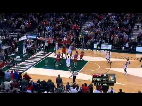 Mike Dunleavy Game Winner vs Bucks
