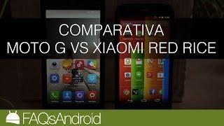 Comparativa Moto G Vs Xiaomi Red Rice En Español