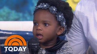 See 'Baby Shark' Toddler Steal Hearts Once More On TODAY | TODAY