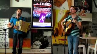 Dwayne Verheyden & Geert Verheyden L1 Cultuur Cafe juni 7-2014 Venlo
