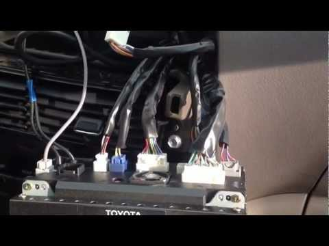 2005 Toyota Sienna Nav System Replacement - YouTube