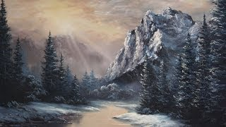 Paint With Kevin Hill Sunlight Over The Valley