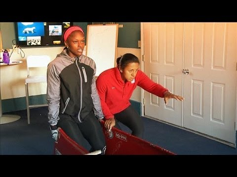 Winter Olympics Training Without Snow: Bobsled