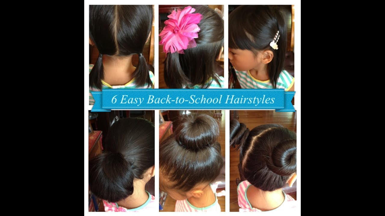 Hairstyles For Short Hair Back To School : Easy Back-to-School Hairstyles for Girls (Short & Long hair ...