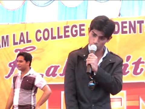 Laughter ka injection - shyam lal college, ladkiyon ko chahiye kaisa boy friend 2014